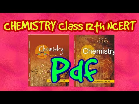 Ncert 12th Chemistry Pdf