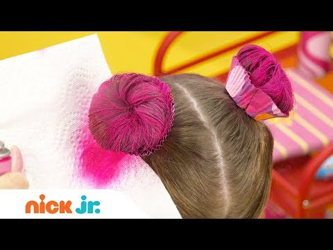 how-to-create-a-cupcake-updo-tutorial-🍰-|-sunny-day's-style-files-|-nick-jr.
