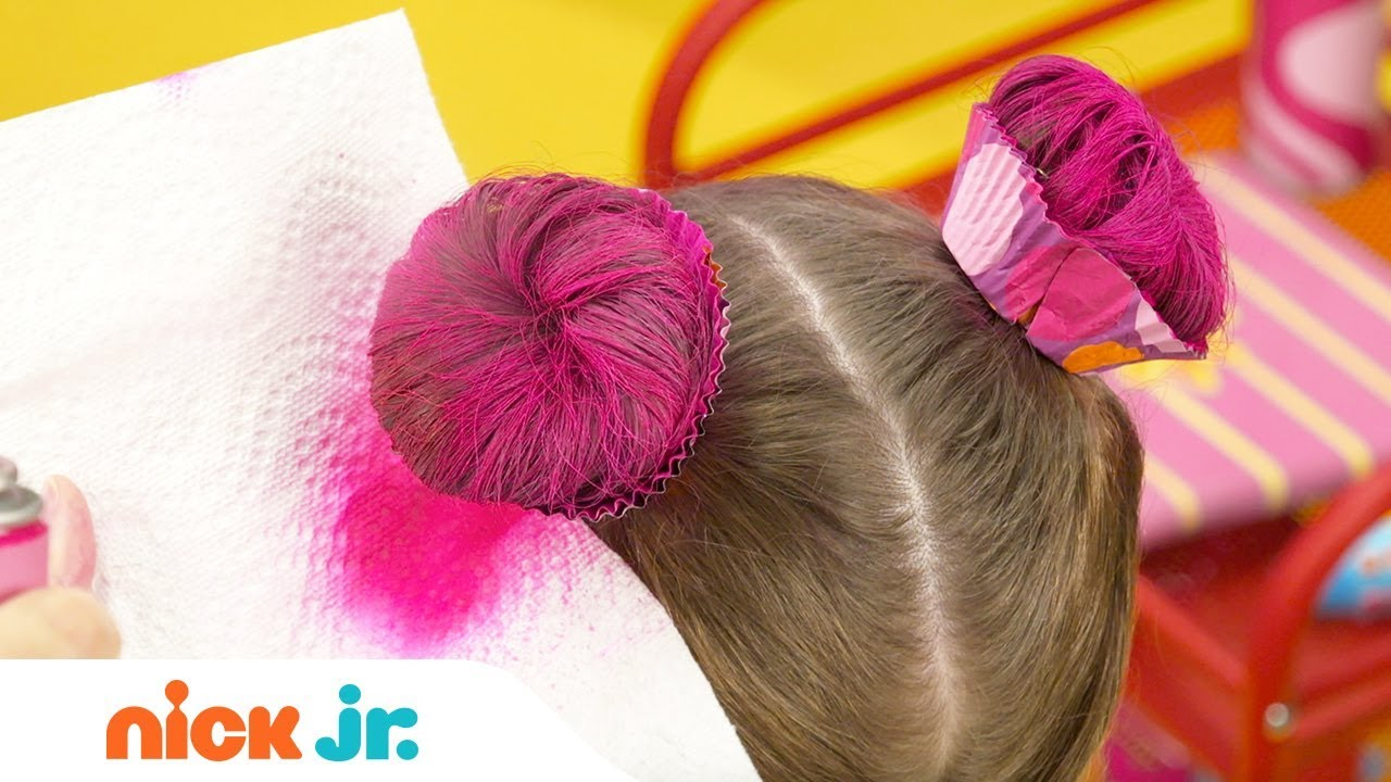 How to Create a Cupcake Updo Tutorial 🍰 | Sunny Day's Style Files | Nick Jr. - YouTube