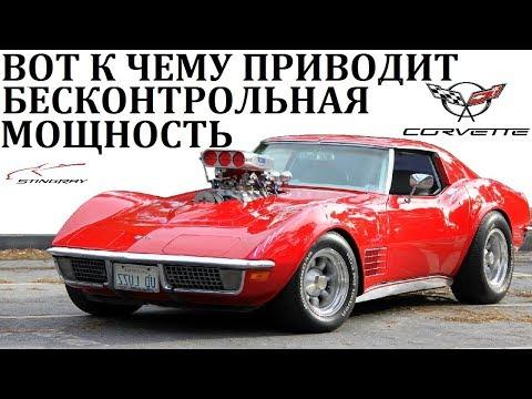 Chevrolet Corvette.СЕКРЕТЫ СКОРОСТИ АМЕРИКАНСКОГО МОНСТРА.