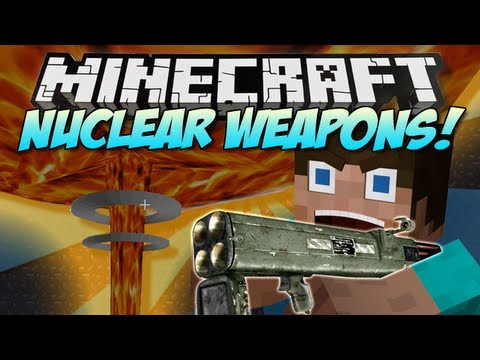 Minecraft   NUCLEAR WEAPONS! (Rival Rebels!)   Mod Showcase [1.5.1]