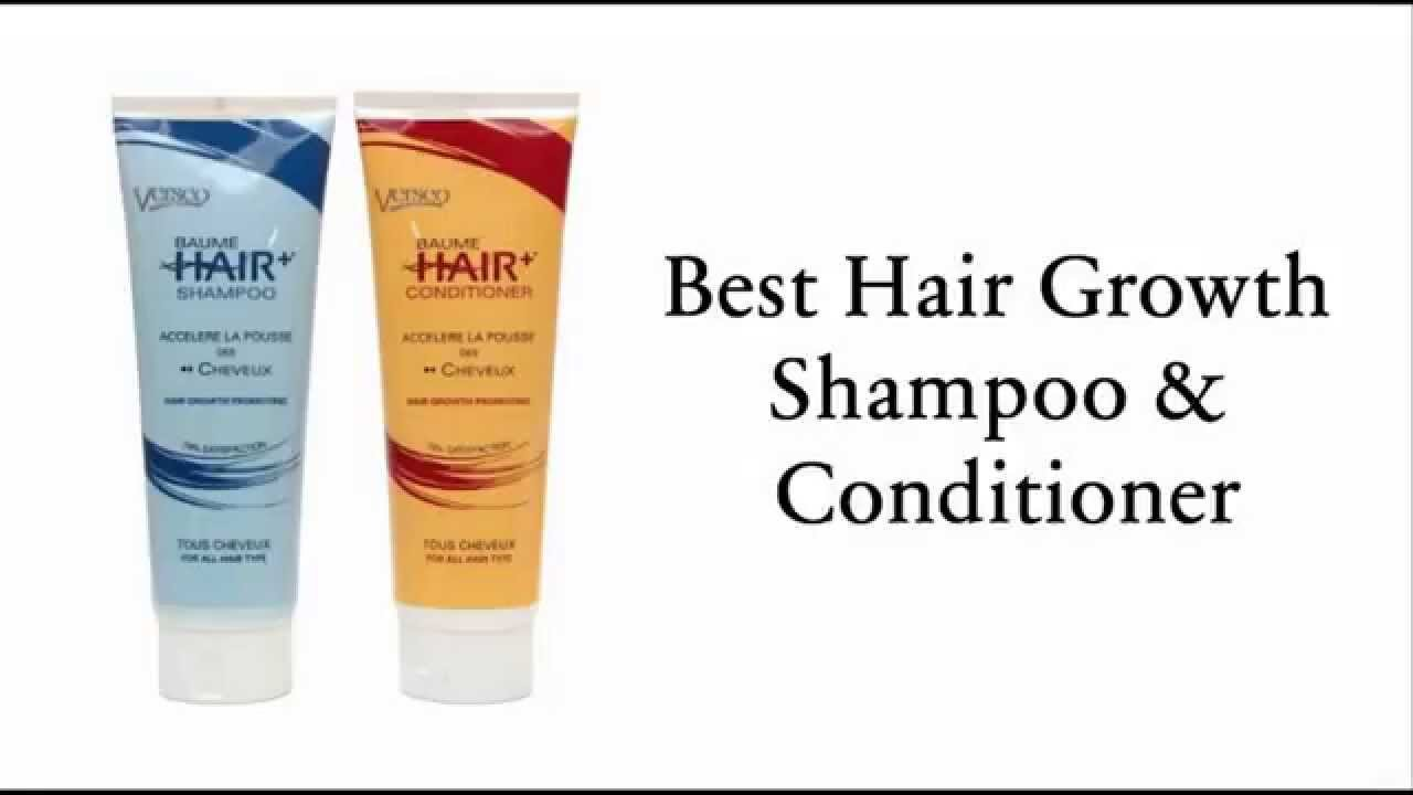 Best Hair Growth Shampoo and Conditioner - YouTube