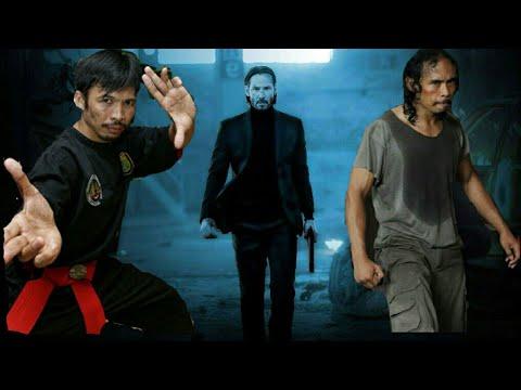 WOW BINTANG THE RAID YAYAN  RUHIYAN & CECEP ARIF RAHMAN BERGABUNG DI JOHN WICK : CHAPTER 3