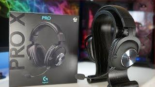 Die beste Mikrofon Qualität die ein Gaming Headset bieten kann !!! Logitech G Pro X