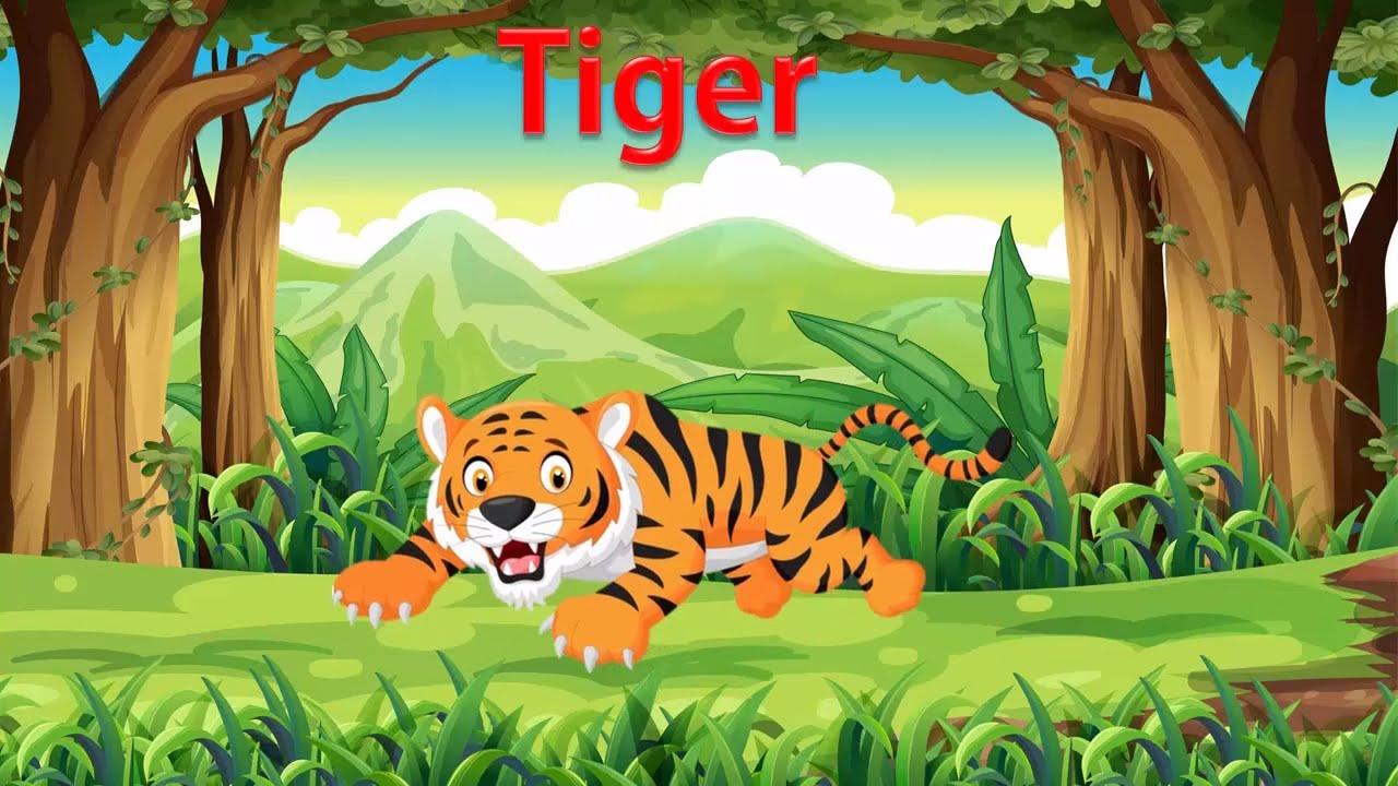 Bé tập nói tiếng anh qua con vật | dạy em học đọc qua các loài động vật |Dạy tiếng anh cho trẻ em