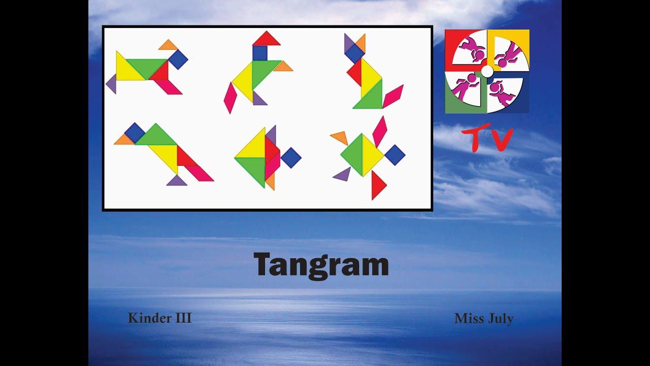 kinder iii  tangram  colegio bertalanffy  youtube