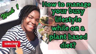 How to stay healthy on a busy lifestyle this 2020/plant based/vegan/ tips