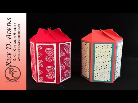 Twist & Close Hexagon Box
