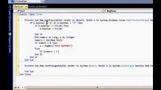 Validar Caja De Texto (Solo Numeros Desde Hasta) Visual Basic 2010