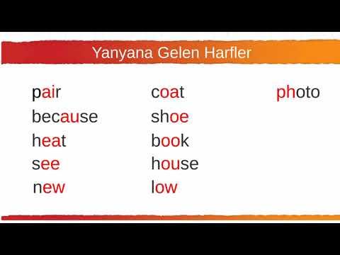 002 Yanyana Gelen Harfler  (Yüksek Sesli)