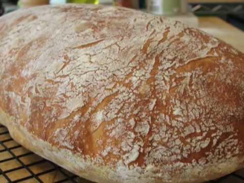 How to Make No-Knead Ciabatta Bread - Amazing Italian Bread