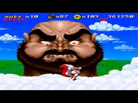 Mr Nutz (SNES) - Boss run