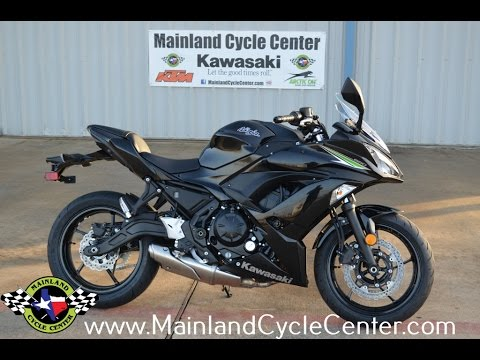 $7,399: 2017 kawasaki ninja 650 in metallic spark black overview