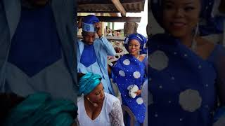 Look at the pretty wife of one of the veteran actors son chief jimoh aliu mfr