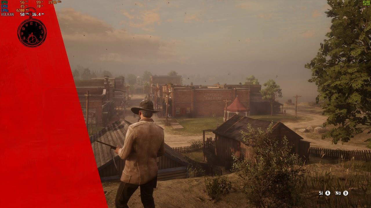 Red Dead Redemption II - GTX 1070 G1- i7 4820K 4.5 Ghz (2K-1080p) Custom Settings