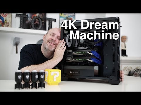 Avant Garde 4K SLI Gaming System Unboxing And First Look!