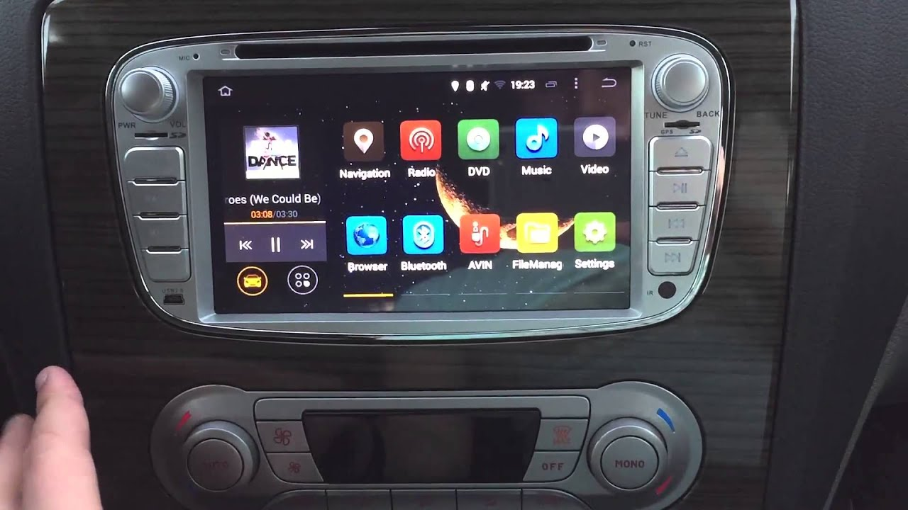 utilisation installation autoradio radio gps androi ford s max c max focus mondeo youtube. Black Bedroom Furniture Sets. Home Design Ideas