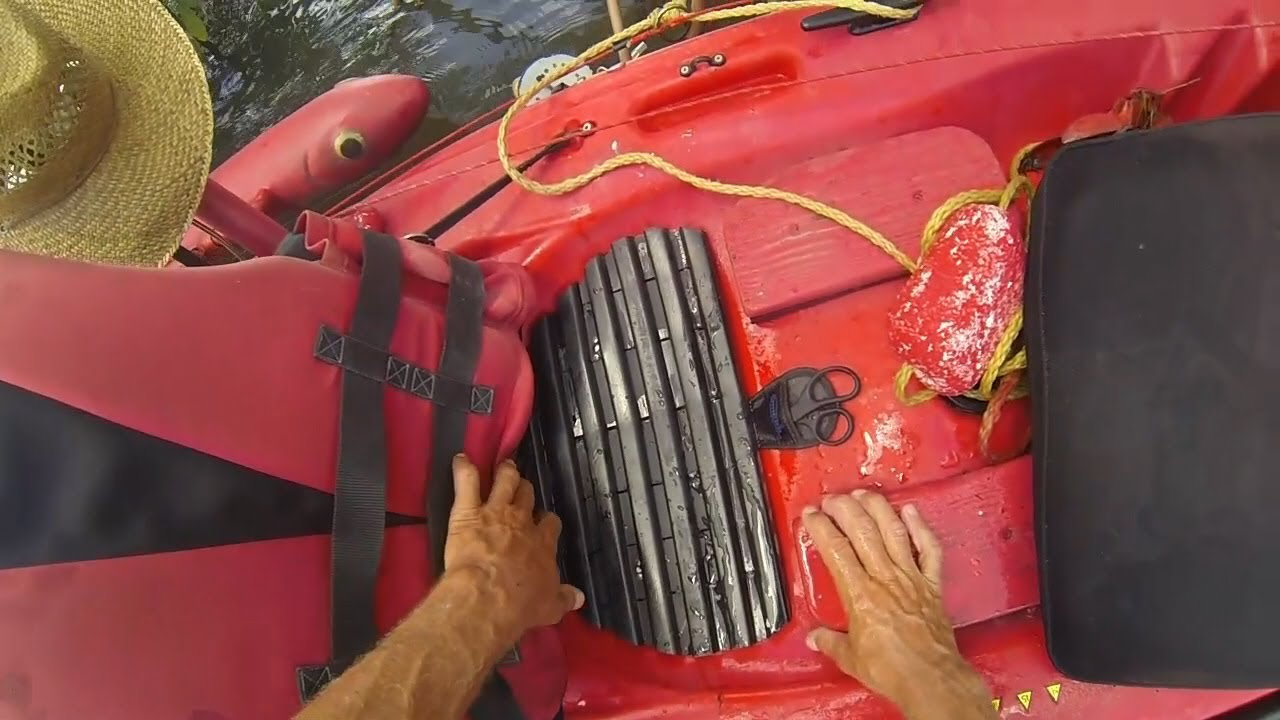 My cheap homemade kayak seat