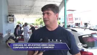 Chegada do Aplicativo Uber causa confusão em Balneário Camboriú