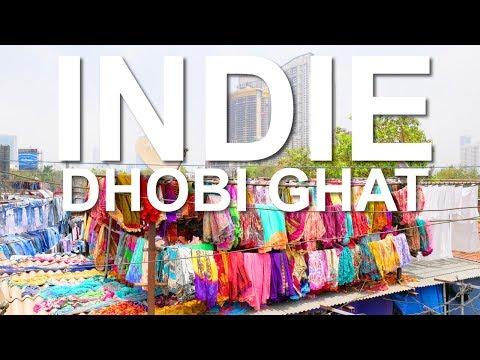 NAJWIEKSZA PRALNIA NA ŚWIECIE - DHOBI GHAT, BOMBAJ, INDIE #536