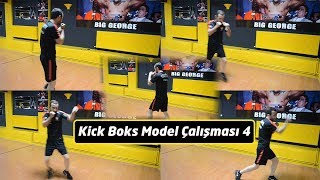 Kick boks kombinasyonları 4 / Kick boxing combinations 4