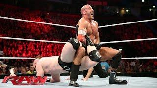 Cesaro vs. Sheamus - WWE World Heavyweight Championship Tournament Match: Raw, November 9, 2015