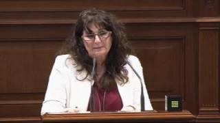 Conchi Monzón (Podemos) sobre el modelo del territorio y la soberanía alimentaria II