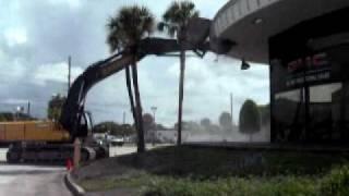 Crown Buick GMC Groundbreaking Demolition