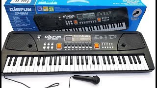 New 61 keys piano review & unboxing By Technical Pareek | | ultra HD 4K 2160p