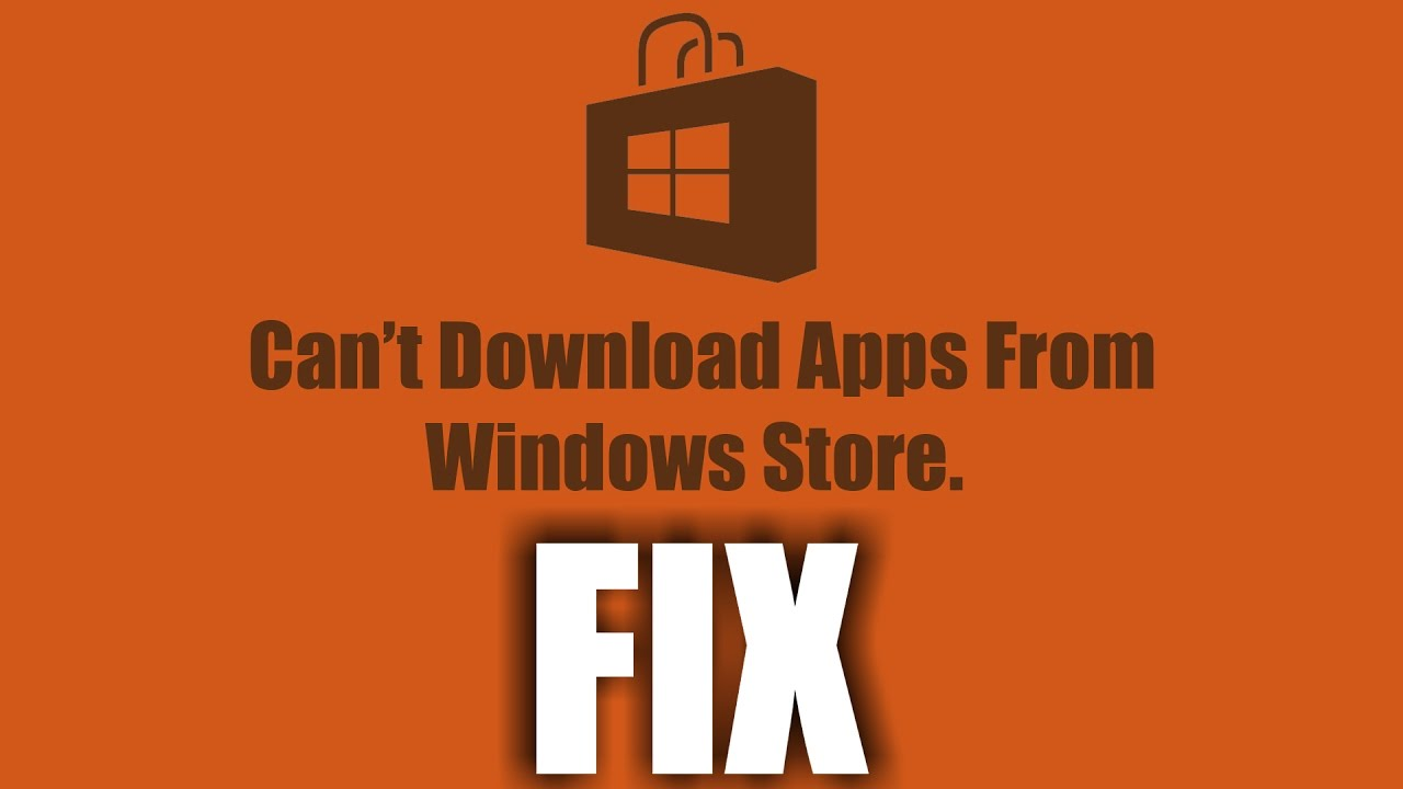 fix windows store download