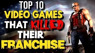 Top 10 Videogames that KILLED Their Franchise