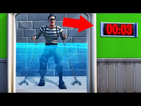 ESCAPE The Room To SURVIVE In FORTNITE! (Fortnite Escape Room)