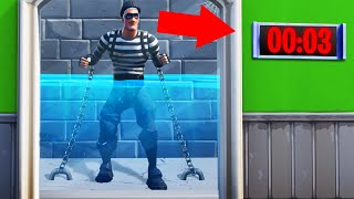 ESCAPE The Room To SURVIVE In FORTNITE! (Fortnite Escape Room) Medium (360p)