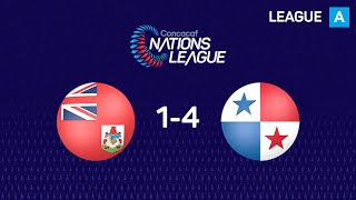 Highlights #CNL: Bermuda 1 - 4 Panama