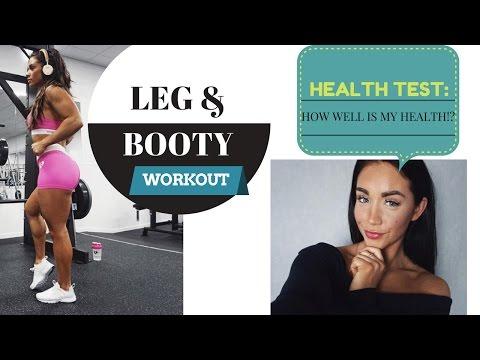 VLOG - LEGS & BOOTY - HEALTH CONTROL- How healthy am I?! Liver, kidney, diabetes!?