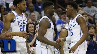 Zion Williamson, RJ Barrett And Their Left-Handed Bond