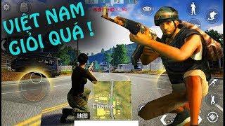FREE FIRE - Chơi thử PUBG mobile của Việt Nam, làm game quá giỏi!