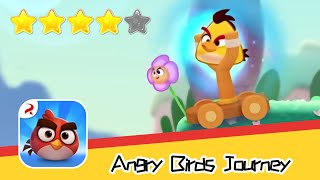 Angry Birds Journey 115-116 Walkthrough Fling Birds Solve Puzzles Recommend index four stars