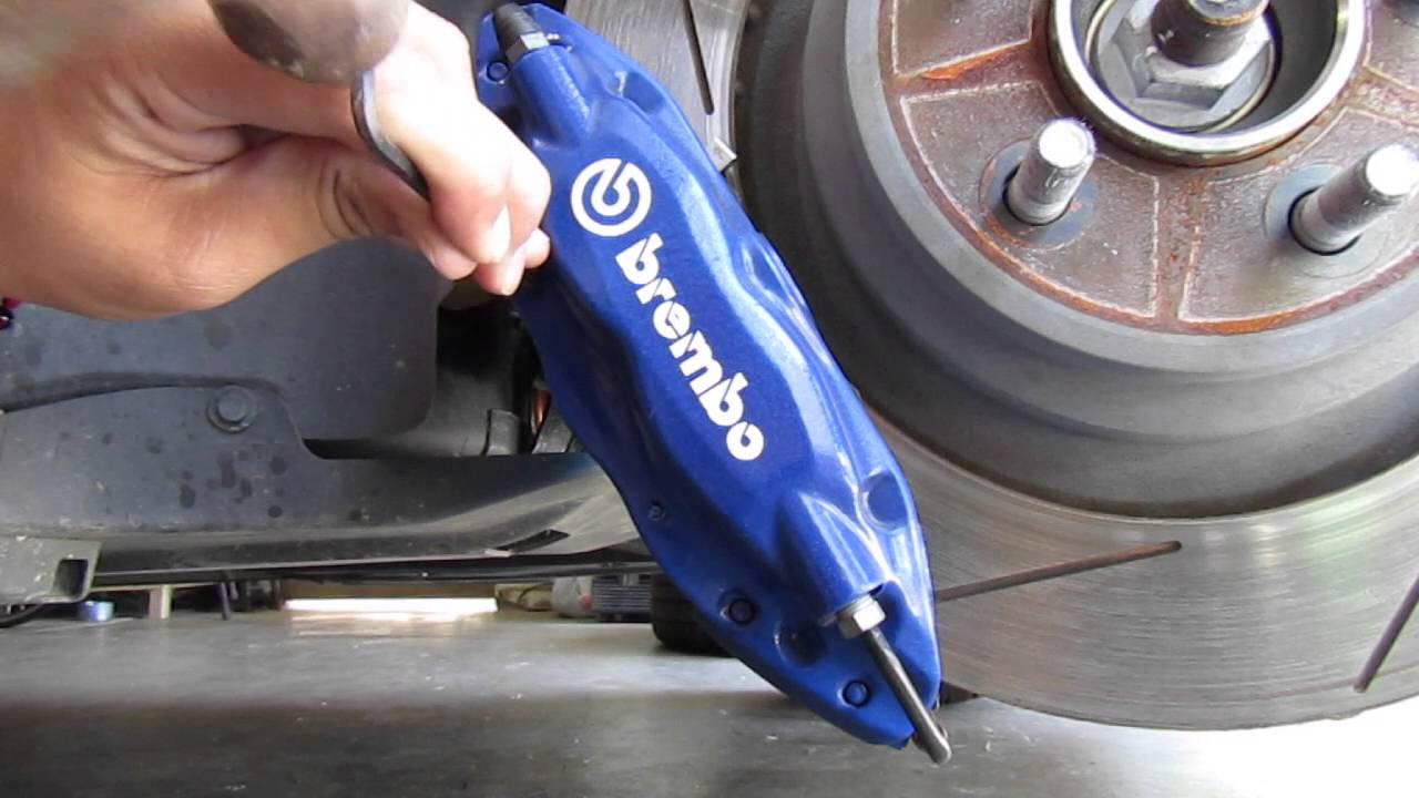 how to know if rock stuck in brakes