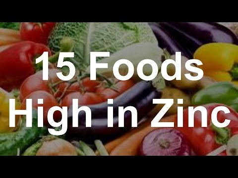 Vegetables Contain Zinc 15 foods high in zinc youtube workwithnaturefo