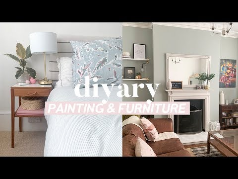 DIYary Home Renovation Updates 🏡 Sitting Room, Garden and Painting Furniture