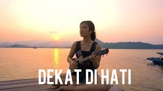 Download lagu dekat di hati RAN ukulele cover by Anzela MP3