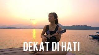 Dekat Di Hati - Ran | Ukulele Cover By Anzela