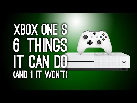 Get Xbox One S: 6 New Things It Can Do (And One That It Won't) - Xbox One Slim Pics