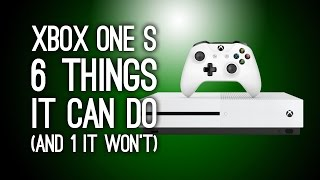 Xbox One S: 6 New Things It Can Do (And One That It Won't) - Xbox One Slim(The new Xbox One S is here and, yes, it's a lot more slim than the previous Xbox One. But that's not the whole story, there are some other neat features of this ..., 2016-08-03T17:06:06.000Z)