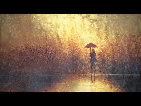 Rainy Day Umbrella Girl Watercolor Inspired LIVE Acrylic Painting Tutorial