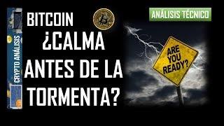 Bitcoin ¿CALMA ANTES DE LA TORMENTA?   Btc/Criptomonedas TRADING ANÁLISIS/NOTICIAS
