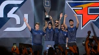 SK Gaming Win ESL Pro League Season 6 Finals vs. FaZe (Grand Final [Train] Map 4)