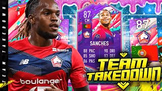 87 FUT Birthday Renato Sanches Team Takedown!!!