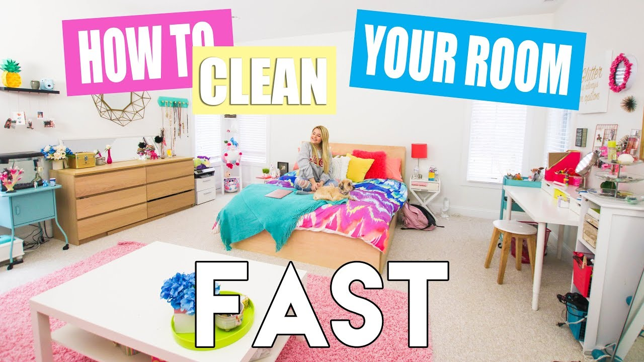 How To Clean Your Room Fast You